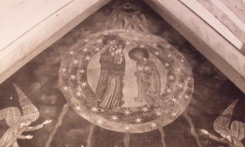 Fresk frontu Kościoła