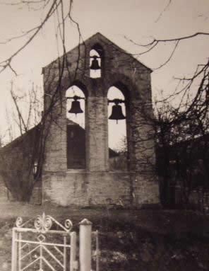 Dzwonnica przykościelna wybudowana przed I wojną światową