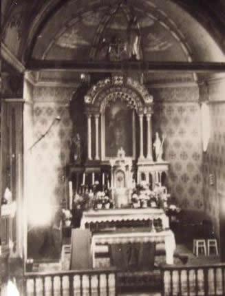 Wnętrze kościoła - kształt sklepienia