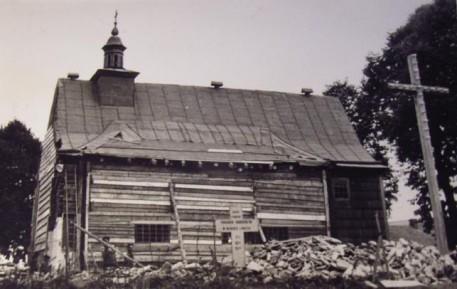 Rozbiórka starego Kościoła
